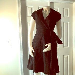 Ann Taylor Black Eyelet Dress 2